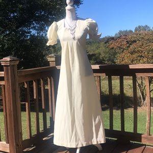 Handmade 70's prairie style dress
